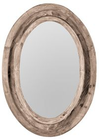 loft & cottage: affordable rustic wood mirrors