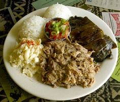 Kalua Pork with Lau Lau
