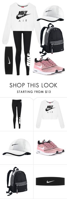 """Nike"" by zidith ❤ liked on Polyvore featuring NIKE"