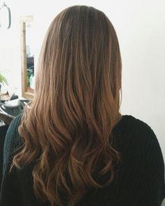 Empress Hair Brisbane - Monique - Brown Balayage Long Curls