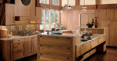 Pacific Origins Kitchen | Wood-Mode | Fine Custom Cabinetry