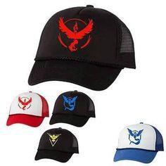 Pokemon Go Caps Pokemon Go, Geek Stuff, Cap, Clothing, Fashion, Geek Things, Baseball Hat, Outfits, Moda