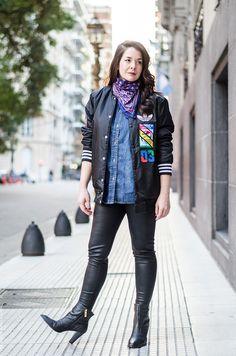 influencers argentina Black Outfits, Punk, Style, Fashion, Shirts, Argentina, Clothing, All Black Clothing, Swag