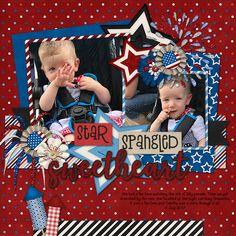 Star Spangled Sweetheart - Scrapbook.com