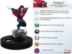 Morbius #028 Amazing Spider-Man Marvel Heroclix - Marvel: Amazing Spider-Man - Heroclix