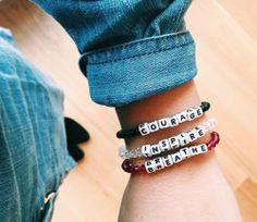 Visit www.littlewordsproject.com to get your own Shareable, Trackable friendship bracelet!