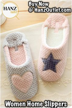 2ba8b072493eb Women Comfort Plush Cozy Home Slippers Animal Non Slip Indoor Shoes - Grey  - CT1860H8YZ5 in 2019