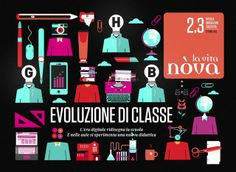 Il sole 24 ore / La vita nova / Class Evolution by The Workroom. The digital era is escalating in Italy. The digital agenda and the school project 2.0 are the ones accountable for this…teachers and colleges are challenging themselves with innovative tools, interactive blackboards, e-book, tablets. These devices are becoming creative opportunities not only for the resources they produce but specially for the potentialities that can be use in the didactic field.