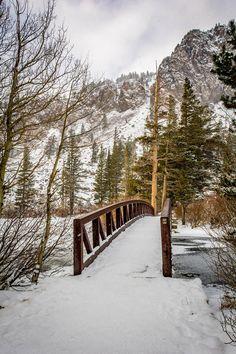 https://flic.kr/p/B8M2yE | Foot Bridge - Twin Lakes, Mammoth, CA, USA
