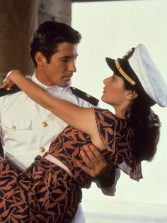 Officer and a Gentleman Richard Gere stars as Zack Mayo, a wayward man who enrolls at the Naval Academy in an attempt to restore order in his life. As he struggles to graduate, he finds love with a factory worker named Paula (Deborah Winger) who helps Zack deal with physical and emotional hardships.