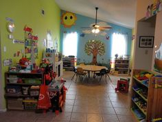 home daycare - I WISH I HAD THIS SPACE!!..thinkin about renting a 1bdrm house to use for daycare instead of my house..maybe the landlord would let me do this lol