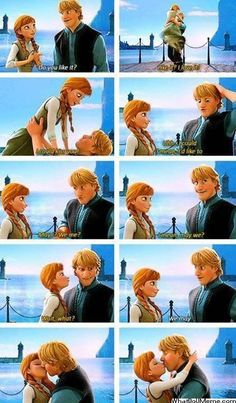 Oh Ana and Kristoff #frozen
