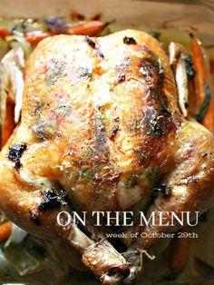 Ina Garten's Perfect Roast Chicken With A StoneGable Twist - My Cooking Ideas 2019 Ina Garten Roast Chicken, Roast Chicken Dinner, Perfect Roast Chicken, Chicken Menu, Roasted Chicken, Chicken Recipes, Recipe Chicken, Turkey Recipes, Baked Chicken