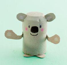 Mit Korken basteln: Koalabär wundertütchen.de