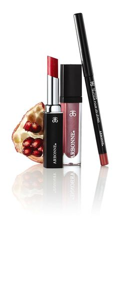 Want full-impact lips all day? Arbonne's smudge-proof lip liner, silky smooth lip polish & feather-resistant lipstick are all you need for daily blissful kisses. Our key ingredient of pomegranate extract will help extend the wear while intensely hydrating & conditioning lips. What're you waiting for? http://ginadamato.arbonne.com. #Arbonne #Beauty