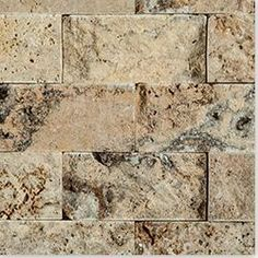Cabot Mosaic Tile - Travertine Series Tuscany Scaba
