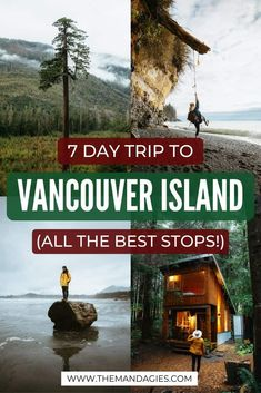Ready for your next epic Canada adventure? Consider a Vancouver Island road trip! This epic British Columbia itinerary is packed with epic beaches, ancient forests, gorgeous backpacking trails, and so much more! Save this post to plan your epic trip! Victoria Vancouver Island, Vancouver Travel, Vancouver Vacation, Places To Travel, Places To Visit, Travel Destinations, Canadian Travel, Canadian Rockies, Roadtrip