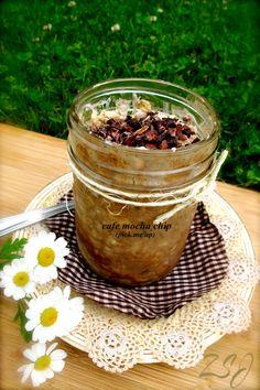 Zain's Swiss Summer Oats -     Cafe Mocha Chip (Pick Me Up Oats)    Complete Recipe: http://www.zainsaraswatijamal.com/site/recipes/zains-swiss-summer-oats-10-signature-flavours/