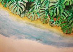 #rainforestescape #jadegedeon #ausmalenfürerwachsene #coloringbook #coloring #colouring #ausmalbuch #ausmalen #watercolor #tropical #palm #rainforestescapebook #green #beach @jadegedeon