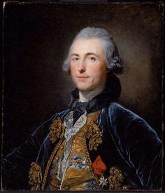 Presumed Portrait of Chevalier de Damery about 1765 Jean-Baptiste Greuze