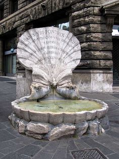 Fountain of the Bees in Rome