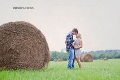 Love this by J.Hicks. Hay bale love