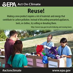 Reduce, Reuse, Recycle. We know you've heard it before – but did you know it's a way to #ActOnClimate?