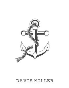 Custom Nautical Anchor Stationery  Personalized by inoroutmedia, $18.00