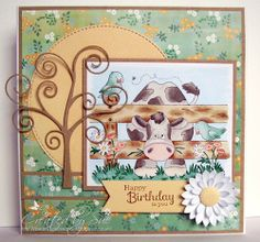 Hay, Whatzup, Buttercup - Dies to Die for DT card