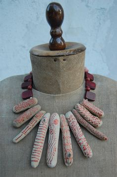 Driftwood necklace and more...  Lucia Hesselink