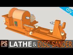 »Hecho en casa Torno y lijadora de disco Parte 1 - Tratamiento de la madera Loco