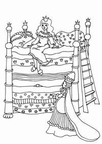 Tegninger - eventyr - Printland Colouring Pages, Coloring Sheets, Adult Coloring, Coloring Books, Famous Fairies, Princess And The Pea, Classic Literature, Little Pigs, Nursery Rhymes