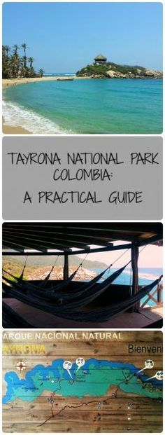 Tayrona National Park in Colombia is worthy of anyone's bucketlist!  Here are some tips and what to take, where to camp & how to get the most out of this gorgeous national park - Parque Tayrona