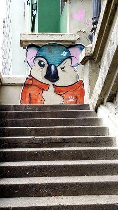 São Paulo, Brasil. - Amazing Street Art & Graffiti from Avenida Nove Julho (between Consolacão and Bixiga municipalities) São Paulo, Brasil. Wherever I am in the city...you find incredible pieces of work. Original photography from R. Stowe.