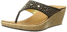 Skechers Cali Women's Beverlee Wedge Sandal ** Insider's special review you can't miss. Read more  : Flip flops