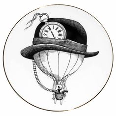 Bowler Hat Balloon Plate | Kitchen & Dining | Rory Dobner