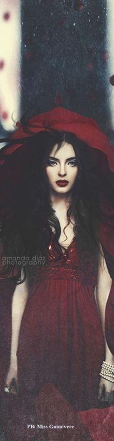 Fairytale Fantasy Surreal Mystic Red Hood by Amanda Diaz Photography