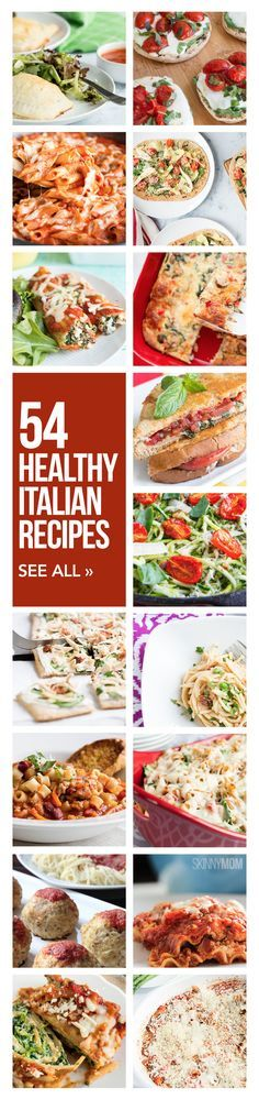 Pasta, pizza - made skinny!
