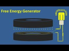 Free Energy Generator with Light Bulb and powerful magnet Flywheel Energy Storage, New Science Project, Experiment, Perpetual Motion, Power Generator, Energy Projects, Useful Life Hacks, Alternative Energy, Cyborgs