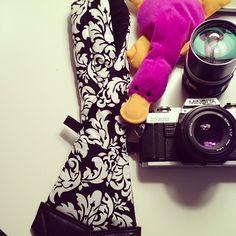 """Dani"" Padded Camera Strap"