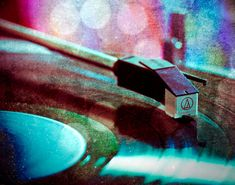 Photograph  Record Player  Bokeh  Surreal Art by Squintphotography