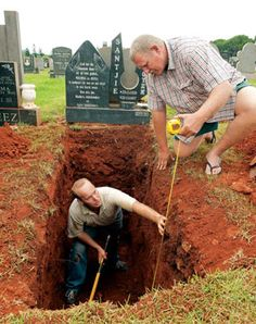 Cemetery, Zandfontein, Pretoria, Gauteng, South Africa ...
