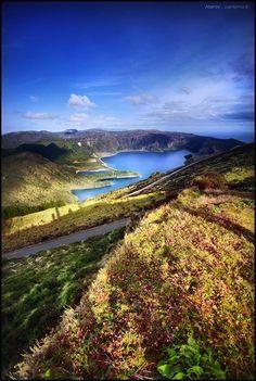 Lagoa do Fogo, Açores, Portugal