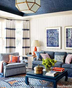 Horse Country Chic: Lindsay Coral Harper in House Beautiful, Again