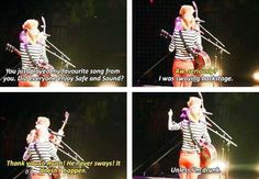Taylor: He never sways. It doesn't happen. Ed: Unless I'm drunk. Oh Ed. xD