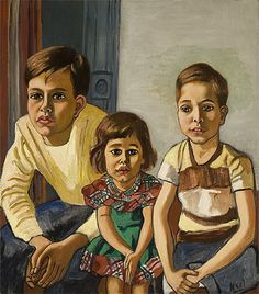 alice neel- Robert, Helen and Ed