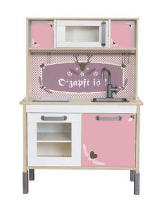 "IKEA keuken decal ""Oktoberfest"": Pimp je Ikea DUKTIG spelen keuken met deze…"
