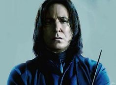 Severus Snape (Alan Rickman) from HARRY POTTER AND THE HALF-BLOOD PRINCE. daughterofchaucer
