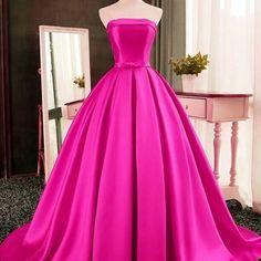 Xp212 a-line satin prom dress,strapless prom dresses,high quality graduation dresses,wedding guest prom gowns, formal occasion dresses,formal dress