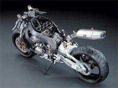 "04 HONDA CBR 1000RR ""FIREBLADE"" naked bike."